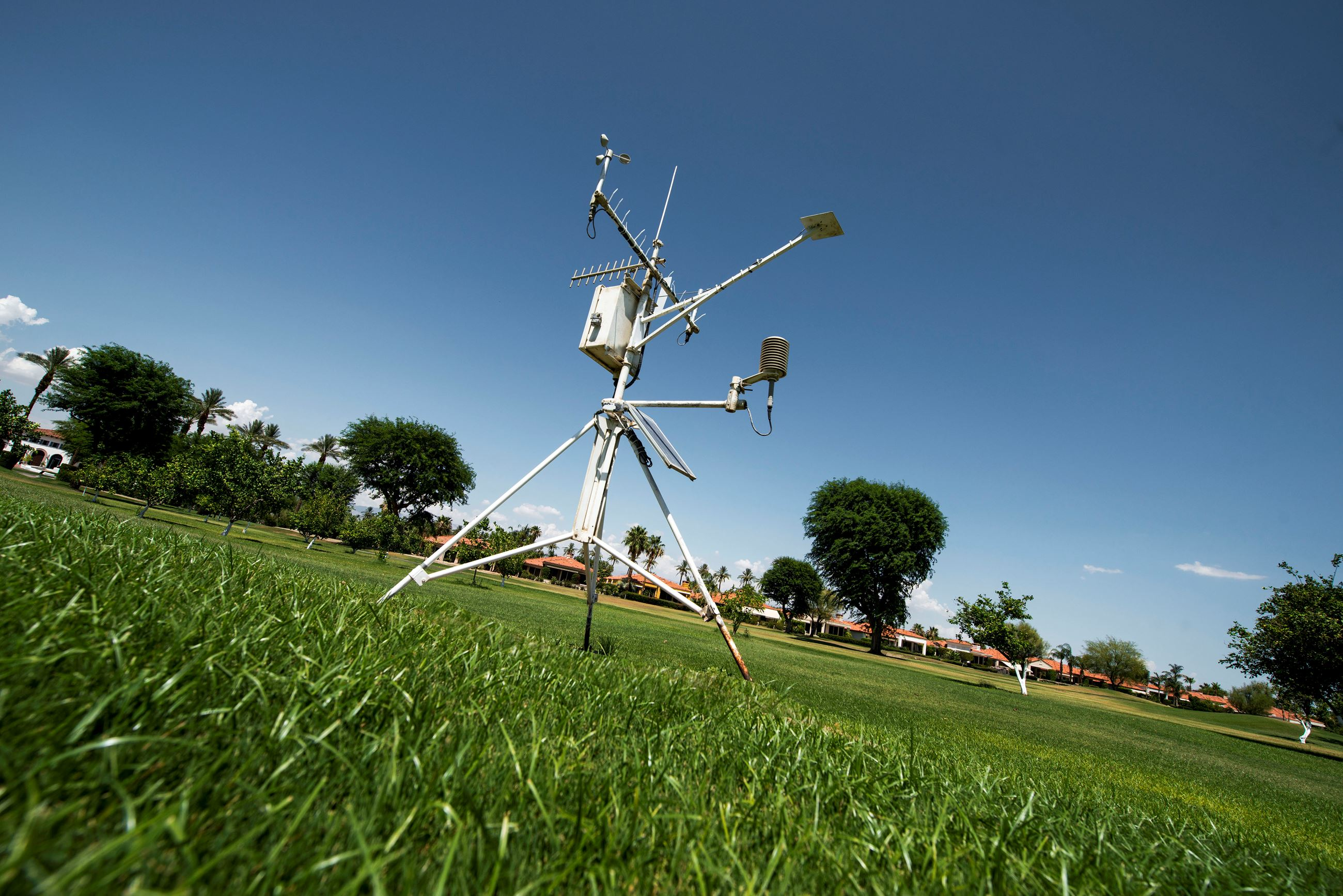 CIMIS weather station