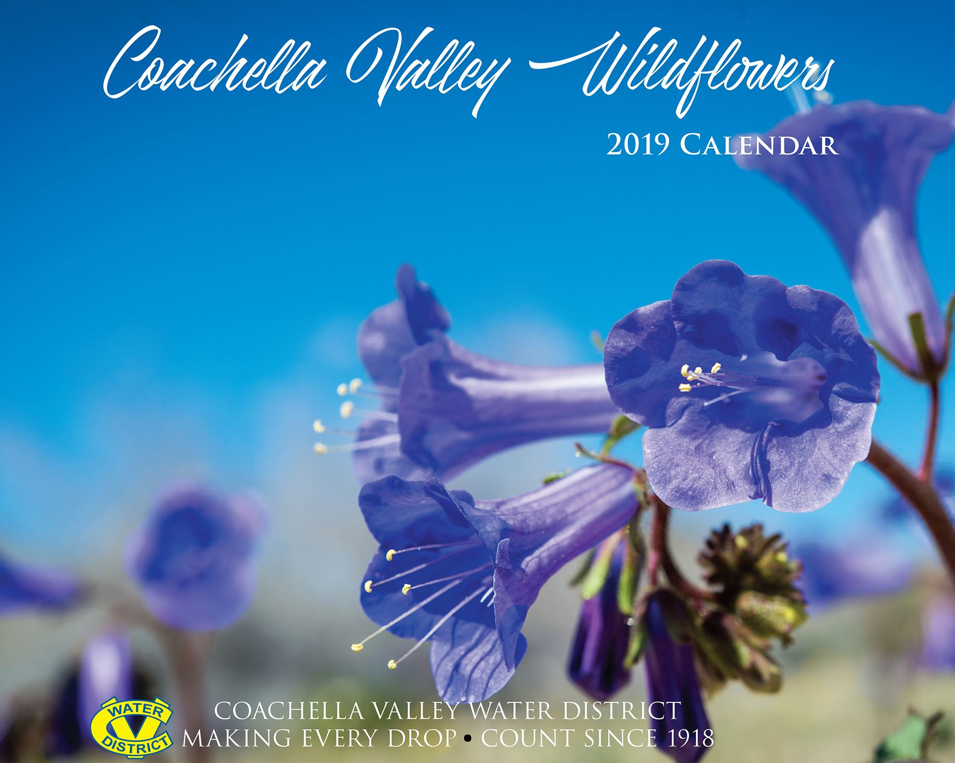 CVWD 2019 Wildflower Calendar Cover Web