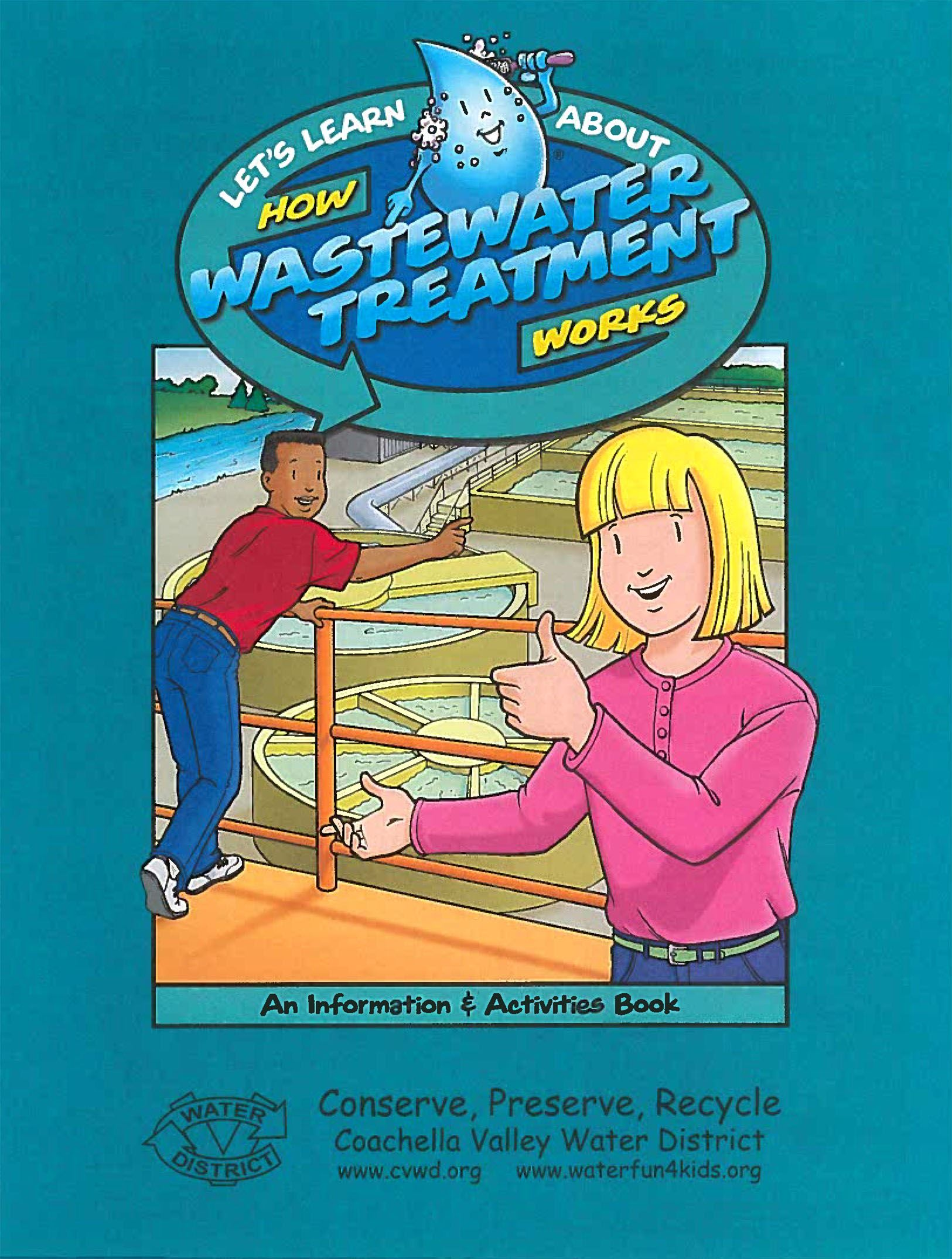 How Wastewater Treatment Works_Activity Book Cover
