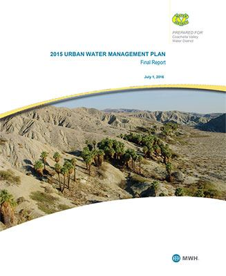 2015 Urban Water Management Plan Opens in new window