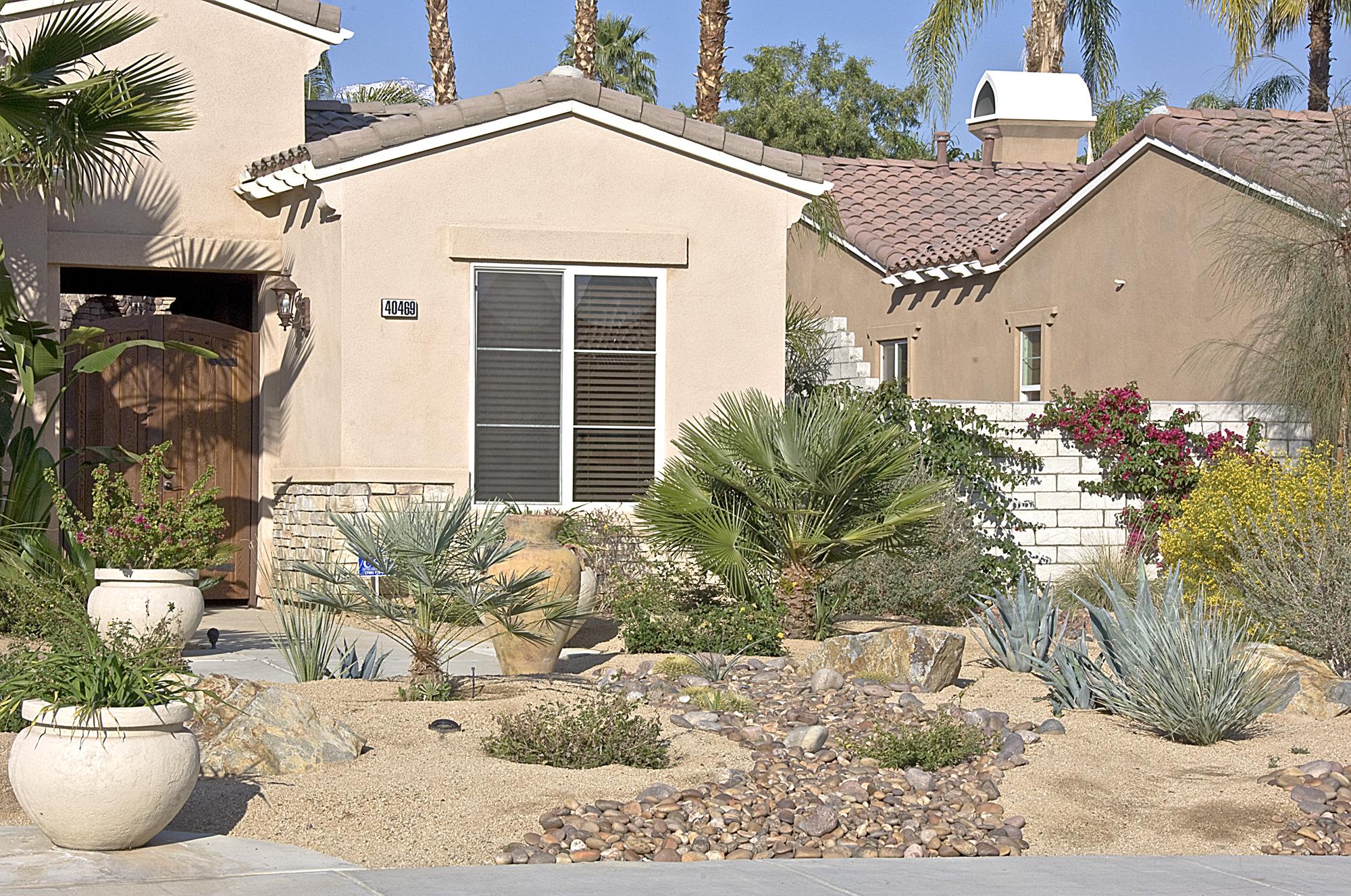 23   Incorporate Hardscape Into Your Landscape. Coachella Valley Water District  CA