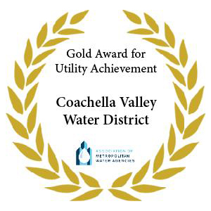 AMWA Gold Award for Exceptional Utility Performance