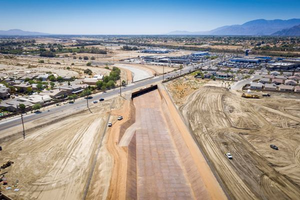 North Indio Regional Flood Control Project 2019/08/21