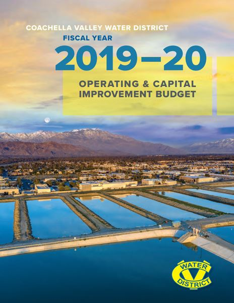 2020 Coachella Valley Water District's Operating and Capital Improvement Budget